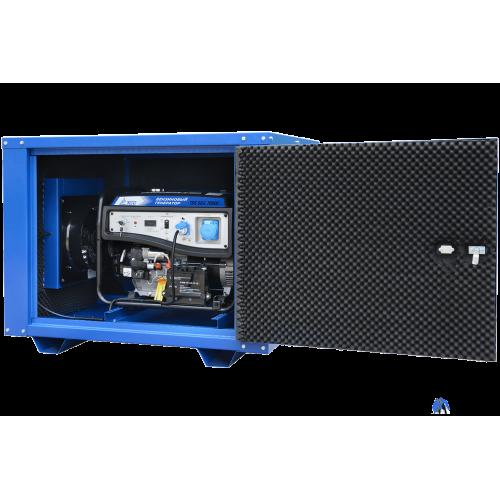 Бензогенератор TSS-SGG-7000Е в кожухе МК-1