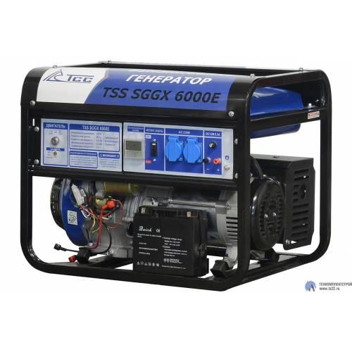 Бензогенератор TSS SGGX 6000E