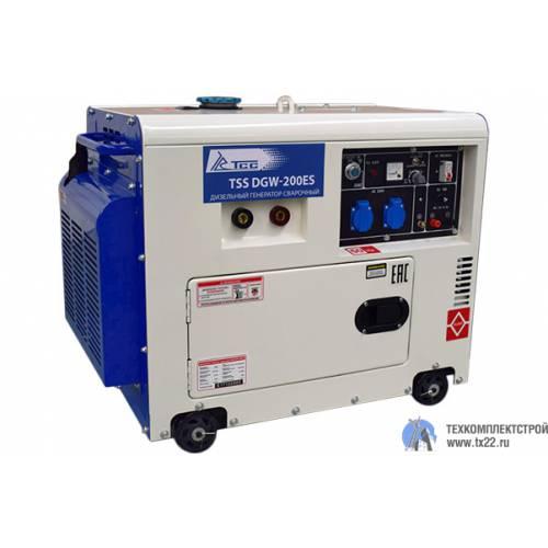 Дизельный сварочный генератор TSS DGW-200ES
