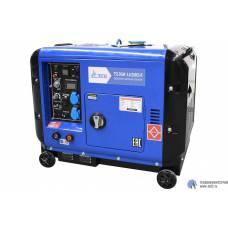 Дизельный сварочный генератор TSS DGW 5.0/200ES-R