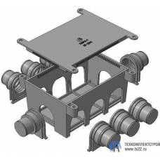 Коробка разветвительная КР-2045 для заливки в бетон