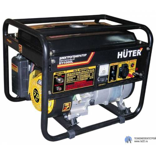 Бензинзогенератор HUTER DY-4000LX