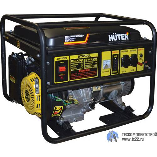 Бензиновый HUTER DY-6500LX