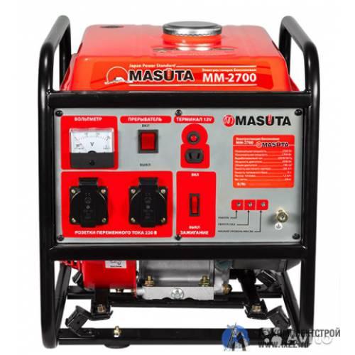 Бензогенератор MASUTA ММ-2700