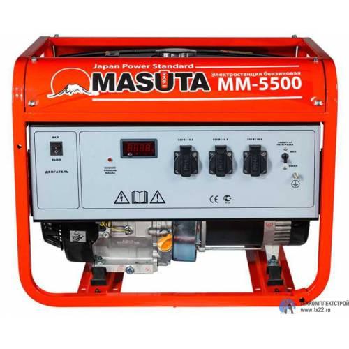 Бензогенератор MASUTA ММ-5500